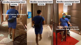 Viral! Video Pria Mencintai Istri Orang, Netizen: Zina Kok Bangga