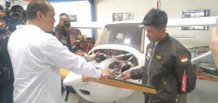 Haerul, Habibie Dari Sulsel 'Perakit Pesawat Bekas' Di Pondok Cabe