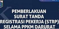 DKI Jakarta Sudah Terbitkan 9.250 STRP Selama PPKM Darurat, 3.208 Ditolak