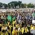 Demo Mahasiswa Segel DPR Sepi Pemberitaan Tapi Heboh di Twitter