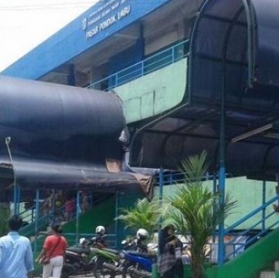 Tiga Pasar Di Cilandak Diserang Corona, Pedagang Buka Tapi Ngumpet