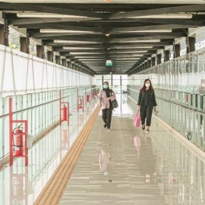 Jembatan Layang Di Stasiun ASEAN MRT, Warganet: Anies Top Jakarta Bangkit