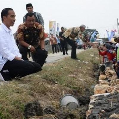 Jokowi Sawer Dana Desa Rp Rp 858,8 Triliun