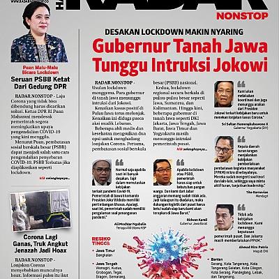 Selasa (22/6): Lockdown Tanah Jawa