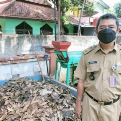 Tembus Hingga 1 Ton, PPSU di Jakbar Olah Sampah Jadi Pupuk Organik