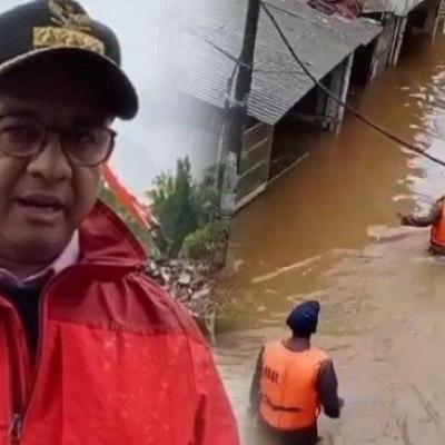 Banjir Dan Kiriman Air Bogor Genangi Jakarta