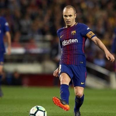 Andres Iniesta Jadi Bahan Ledekan Blaugrana