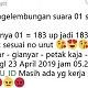 Upload C1 Bodong, Suara Jokowi - Amin 183 Dimarkup 1833, Prabowo Dikasih 2?