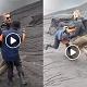 Banting Petugas Gunung Bromo, Bule Kurang Ajar Yang Viral
